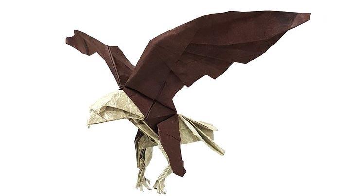 Оригами-орел №3