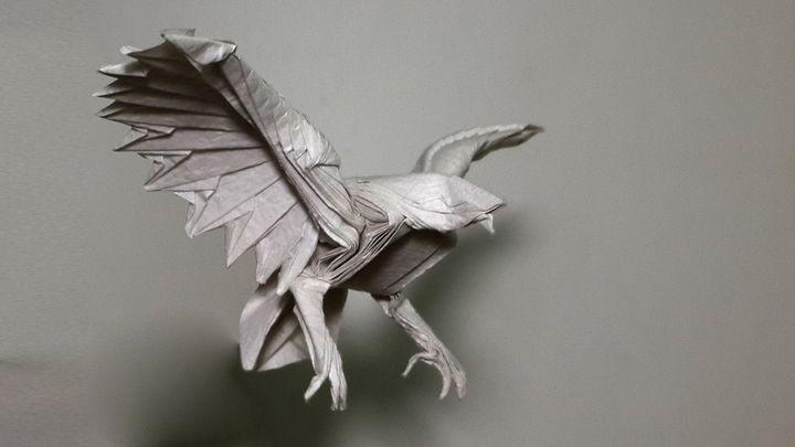 Оригами-орел №5