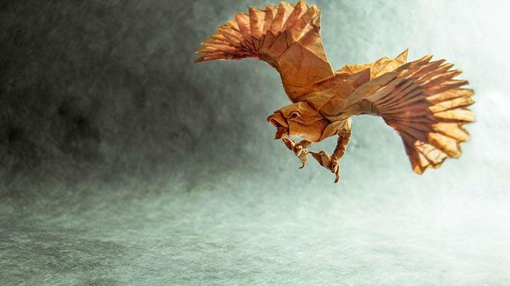 Оригами-орел №6