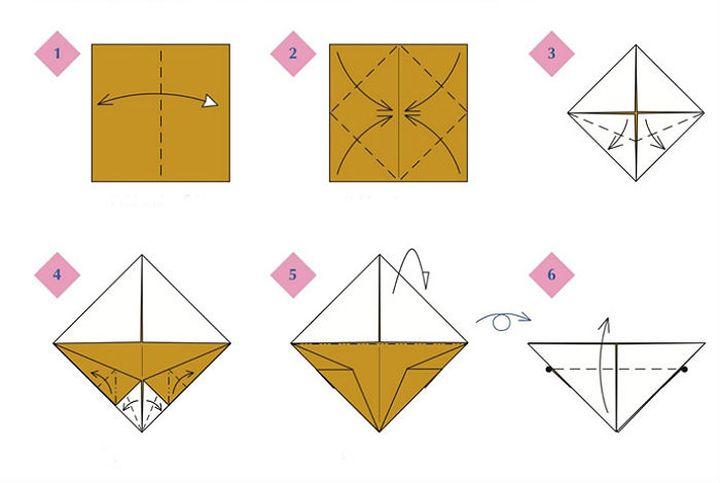 Мастер-класс по изготовлению белоголового орлана в технике оригами
