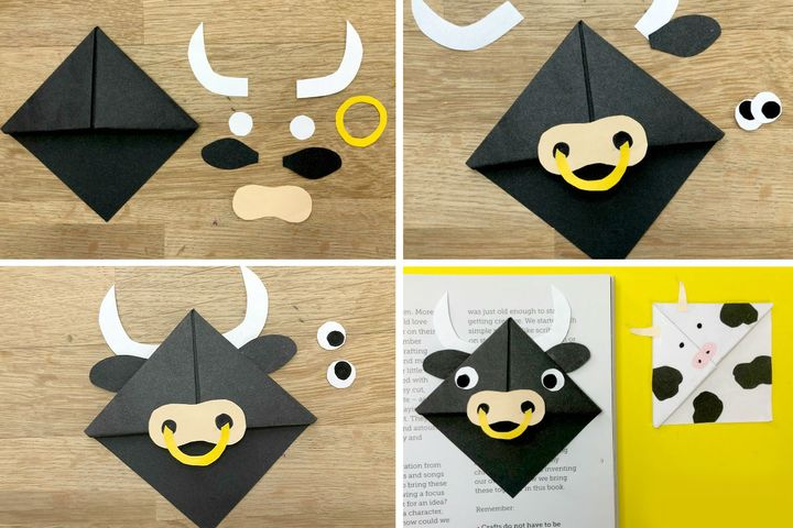 Оригами-бык