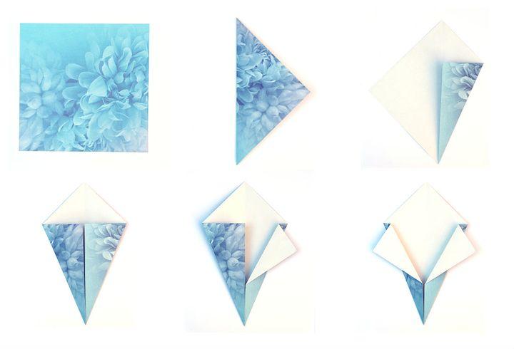 Мастер-класс по сборке  приведения-оригами