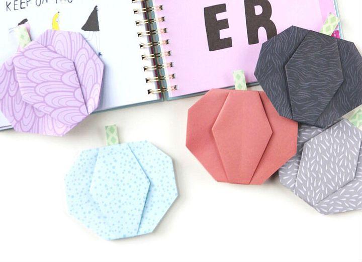 Мастер-класс по сборке простой модели оригами-тыквы