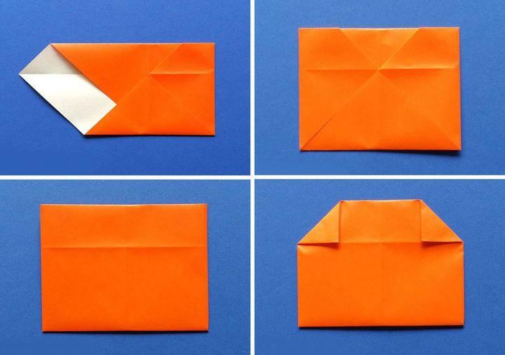 Мастер-класс по сборке  подставки в виде оригами-тыквы