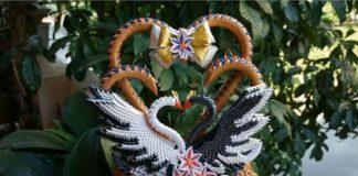 Пошаговая инструкция сборки модульного оригами для свадебного подарка