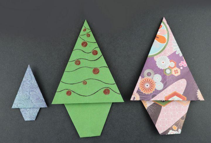 Мастер-класс по сборке детского варианта оригами-дерева
