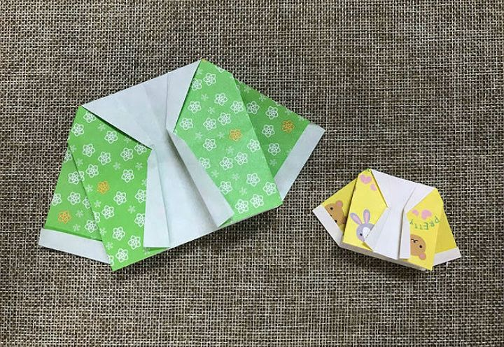 Мастер-класс по сборке короткого оригами-пиджака