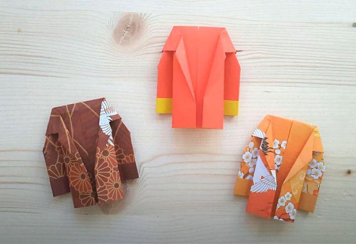 Мастер-класс по сборке классической модели оригами-пиджака