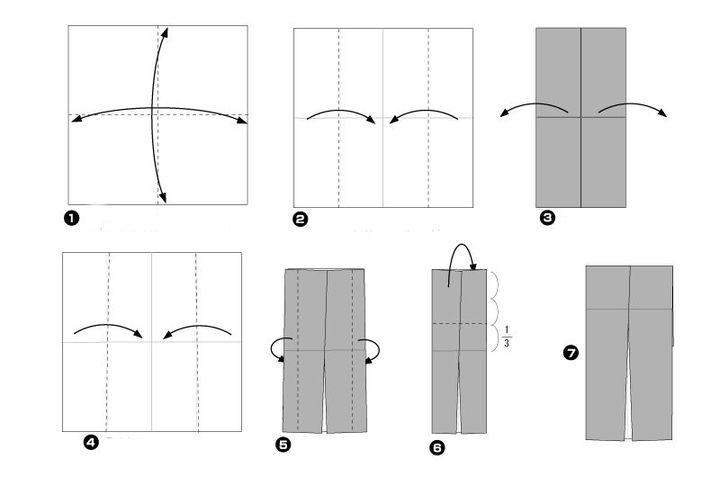 Мастер-класс по сборке классической модели свадебного оригами-пиджака