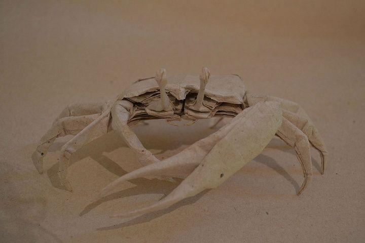 Оригами-краб № 1