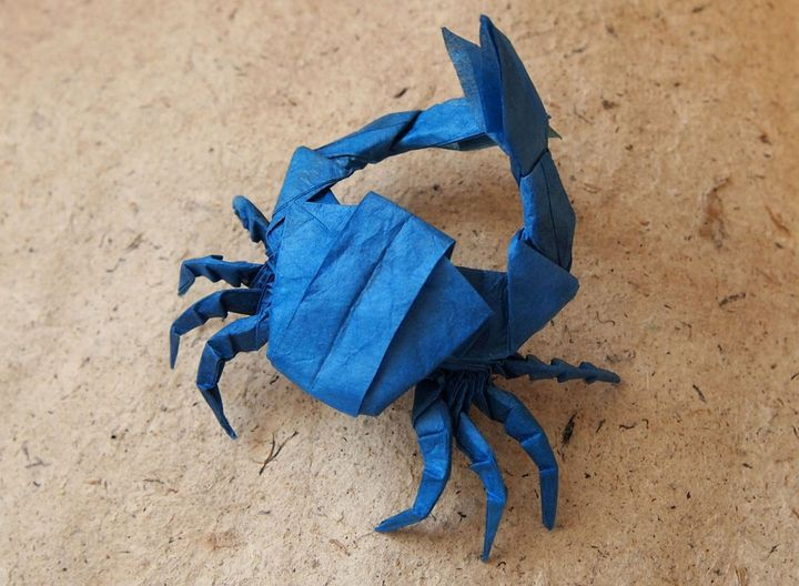 Оригами-краб № 5