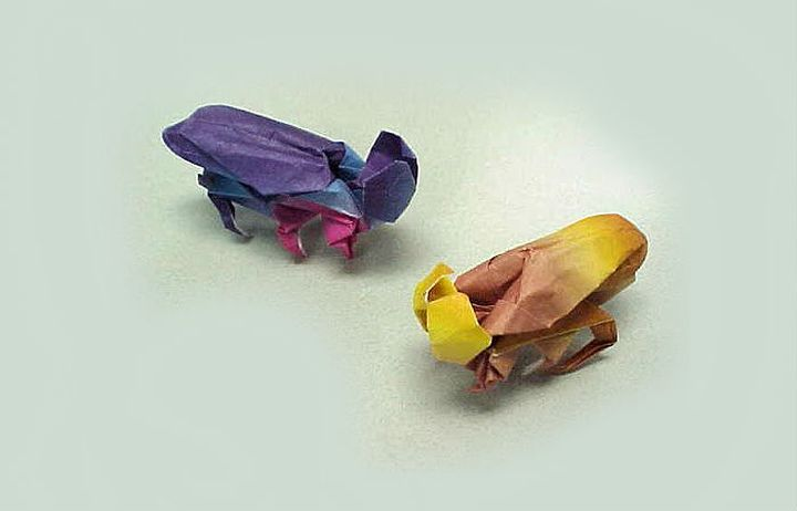 Муха-оригами 5