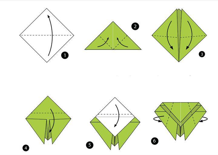 Мастер класс по сборке оригами-муха