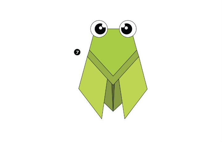 Муха-оригами