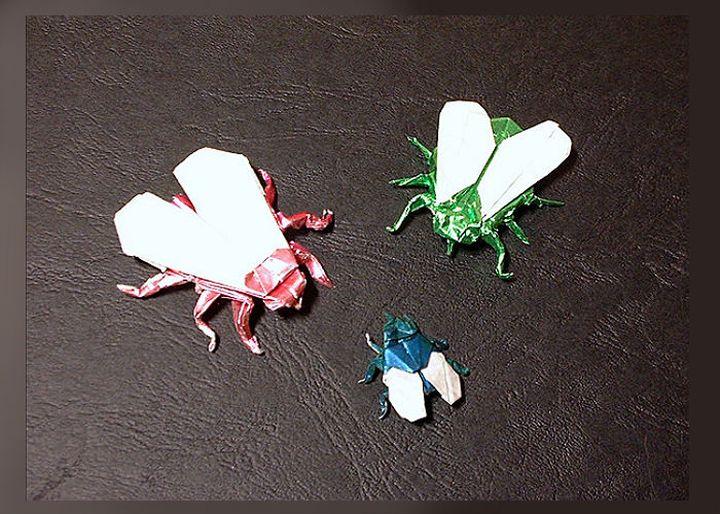 Муха-оригами 1