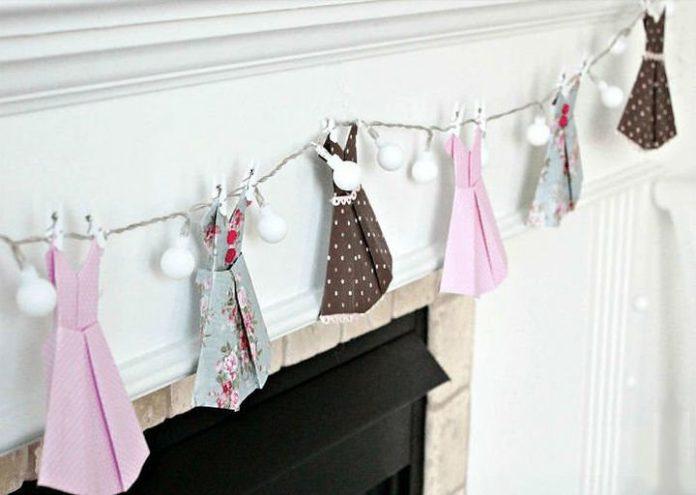 Оригами-платье