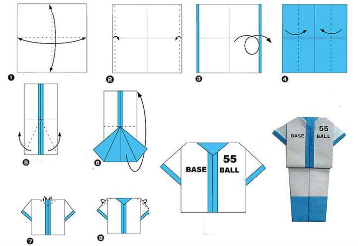 Мастер-класс по изготовлению оригами-джемпера