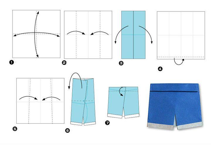 Мастер-класс по изготовлению детской одежды-оригами