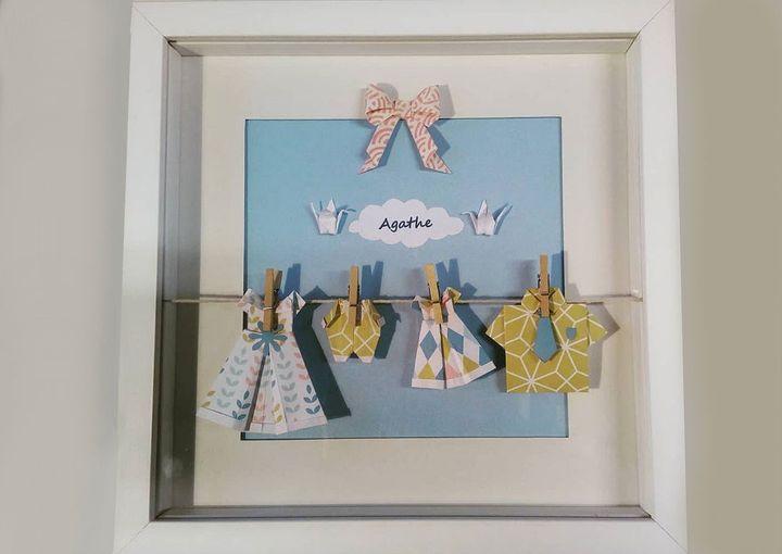 Детская одежда-оригами