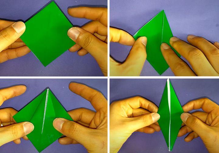Поэтапная сборка подводной лодки в технике оригами для игры