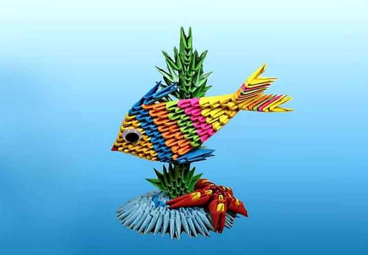 """Оригами """"Мечты о Карибах"""""""