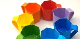 Оригами-кружка