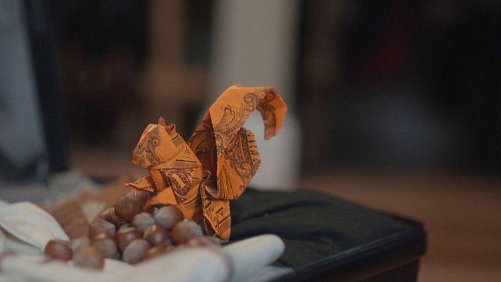 Оригами-белка