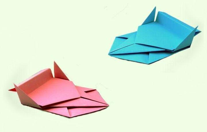 Мастер-класс по сборке гоночного автомобиля в технике оригами