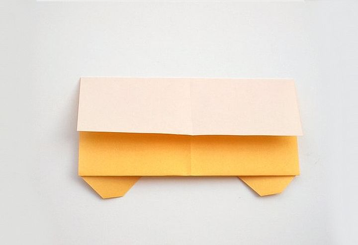 Мастер-класс по сборке школьного оригами-автобуса