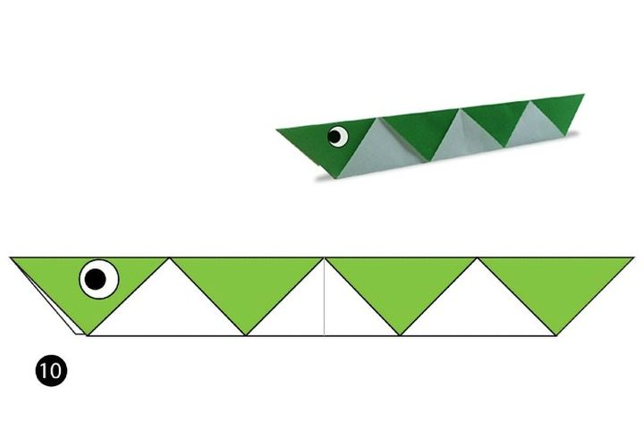 Схема оригами-куфии