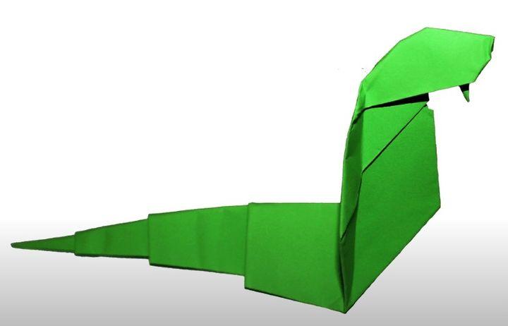 Кобра-оригами