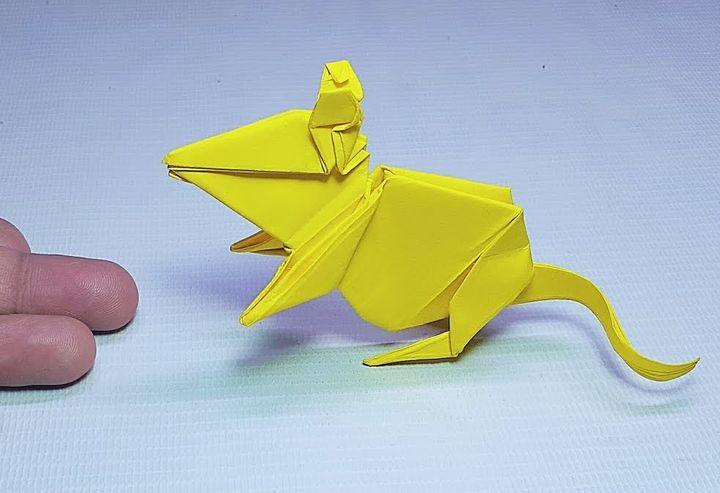 Крыска-оригами