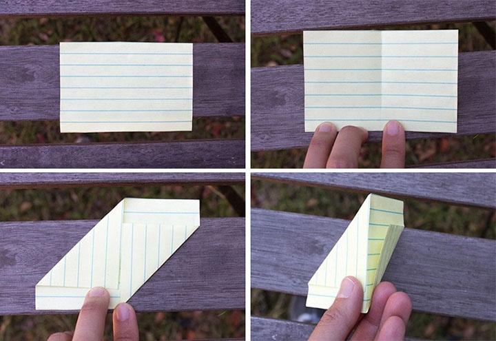 Изготовление когтей-оригами