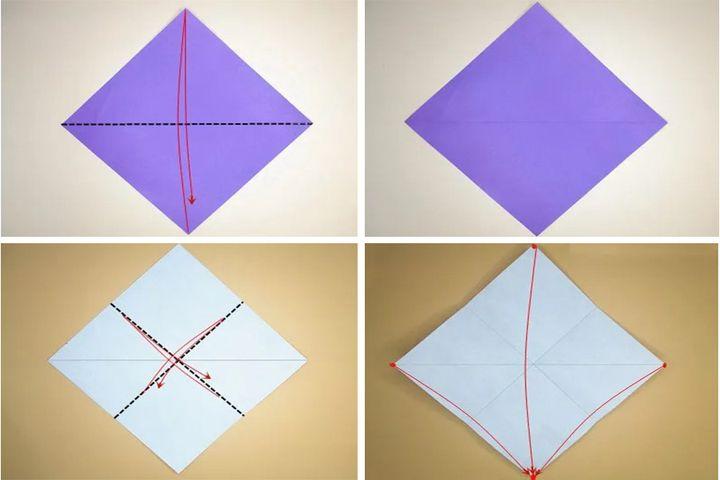 """Игра-оригами """"обезьяна и гора"""""""