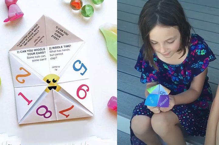 Оригами-гадалки для девочек