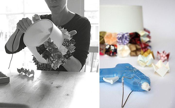 Оригами-гадалка для декора