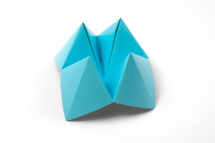Основа для оригами-гадалки