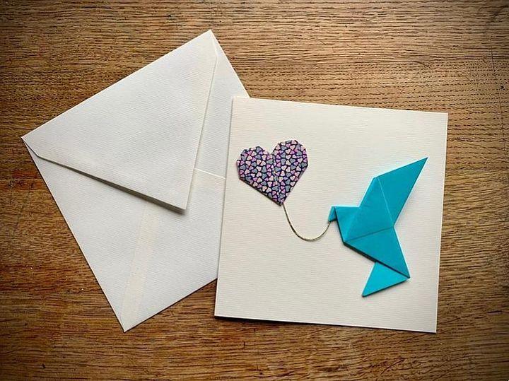 """Оригами """"голубь мира"""""""