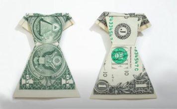 Оригами из денежных купюр своими руками