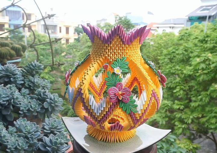 Пример модульного оригами