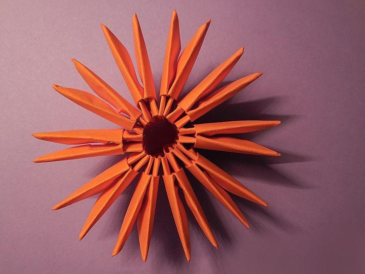 Модульное оригами: простые схемы