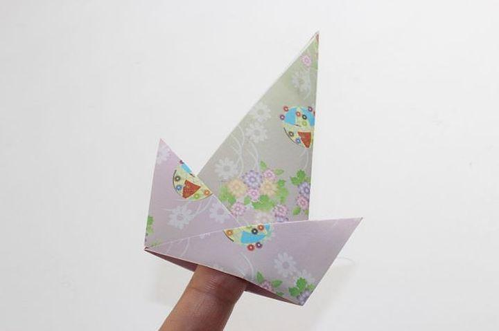 Колпак в технике оригами