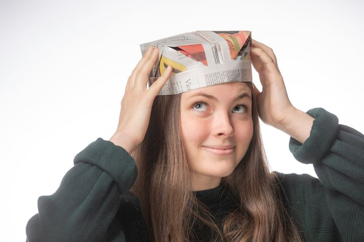 Оригами-шапка Workman's Hat
