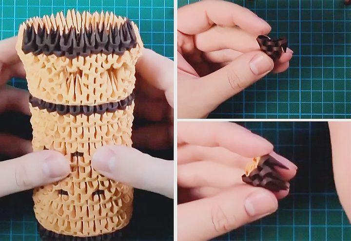 Сборка модульного оригами-замка