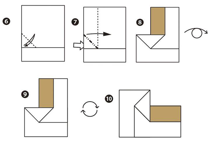 Оригами-паровоз