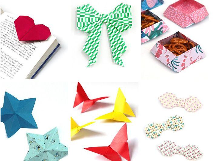 Простые оригами