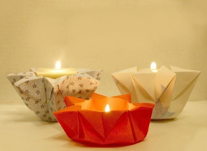 Оригами-фонарики