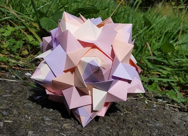 Оригами-шар от Ксандера Перрота