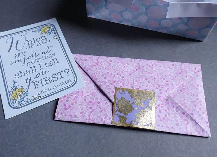 Конверт-оригами для денег