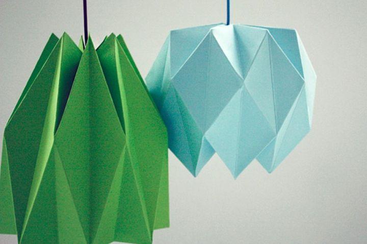 Оригами из листа а4